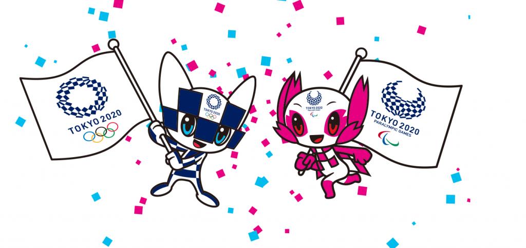 Tokyo Olympics 2020 mascots Miraitowa and Someity