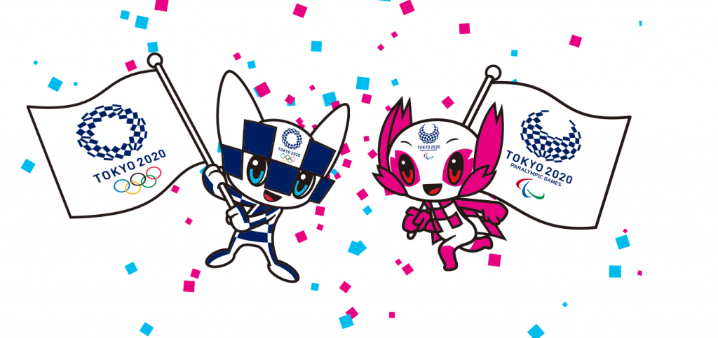 Miraitowa and Someity Tokyo 2020 official mascots